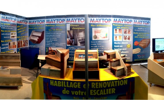 stand renovation escalier MAYTOP